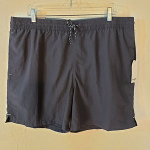 Goodfellow Mens  XL Steel Blue Swim Trunks 6""